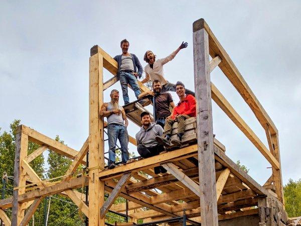 Timber Frame Raised