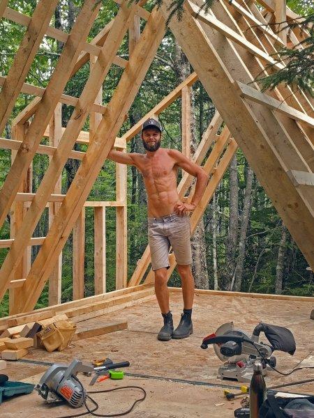 A-frame construction