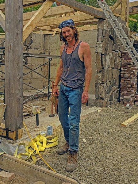 Homo building a home