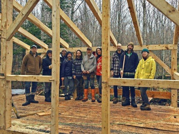 Timber Frame Workshop 2018